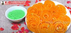 completely ready jalebi in a plate to enjoy