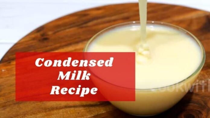 condensed milk recipe